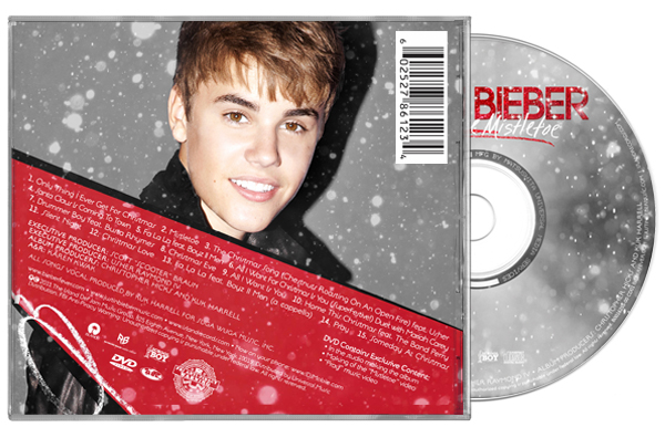 uber deluxe package features silver mylar box 40 page photo lyric book christmas ornament 12 days of justin bieber calendar deluxe album - Justin Bieber Christmas Album