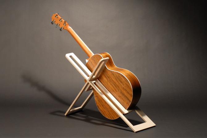 Guitar Stand Designs : Taylor guitar stand daniel chow design