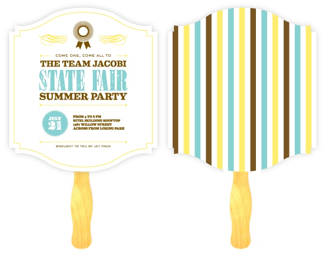 State Fair Summer Party Invitation - Maddy Hague